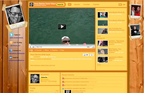 How To Make A Custom YouTube Background – iDeborah Marketing