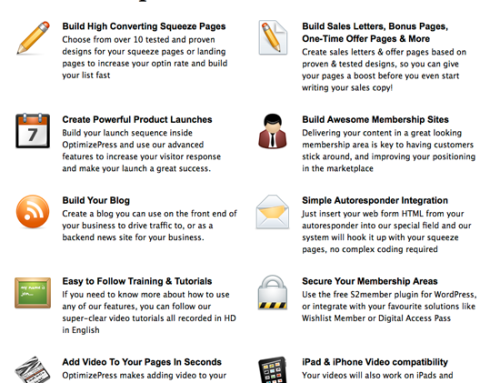 OptimizePress: An Easy Tool For Designing Attractive Salespages & Landing Pages