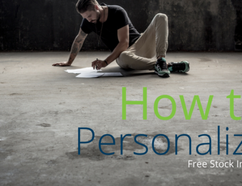 How to Personalize Free Stock Images