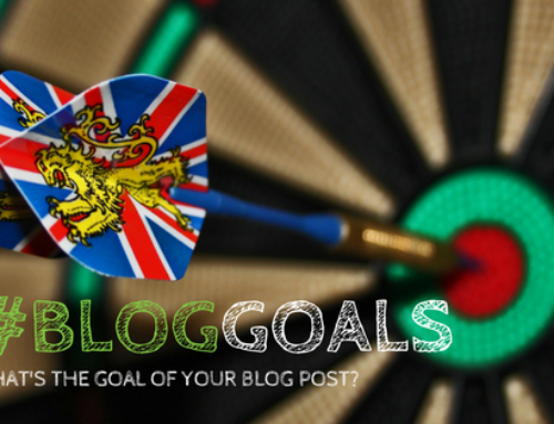 #Bloggoals: Craft Your Next Post With Your Blog Goals In Mind